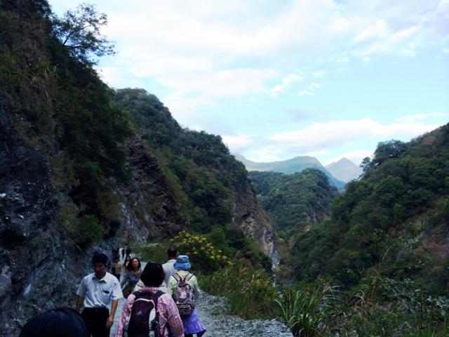 The Baiyang Waterfall Trail in Taroko