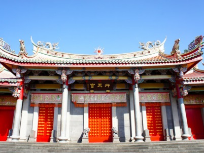 Taiwan chartered tour   temples