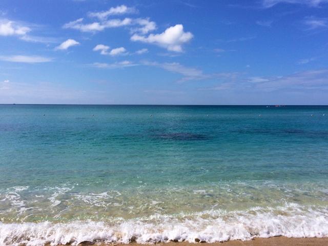 墾丁風光-南灣沙灘